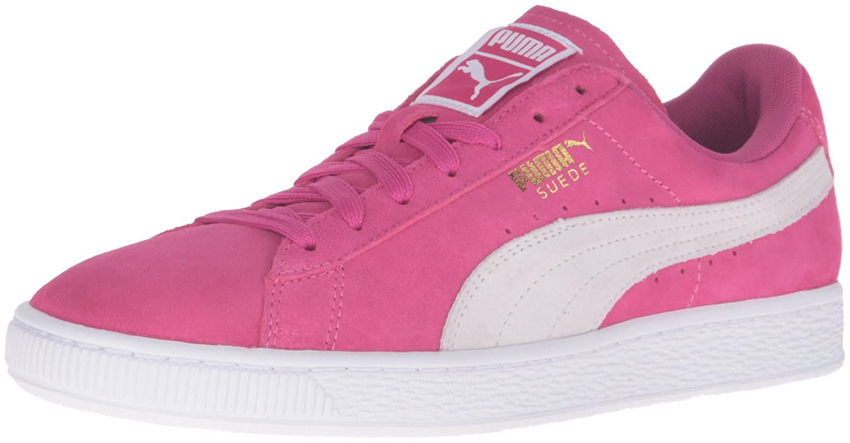 PUMA Women's Suede Classic Sneaker B01A85I94A 6 M US Fuchsia Purple/Puma