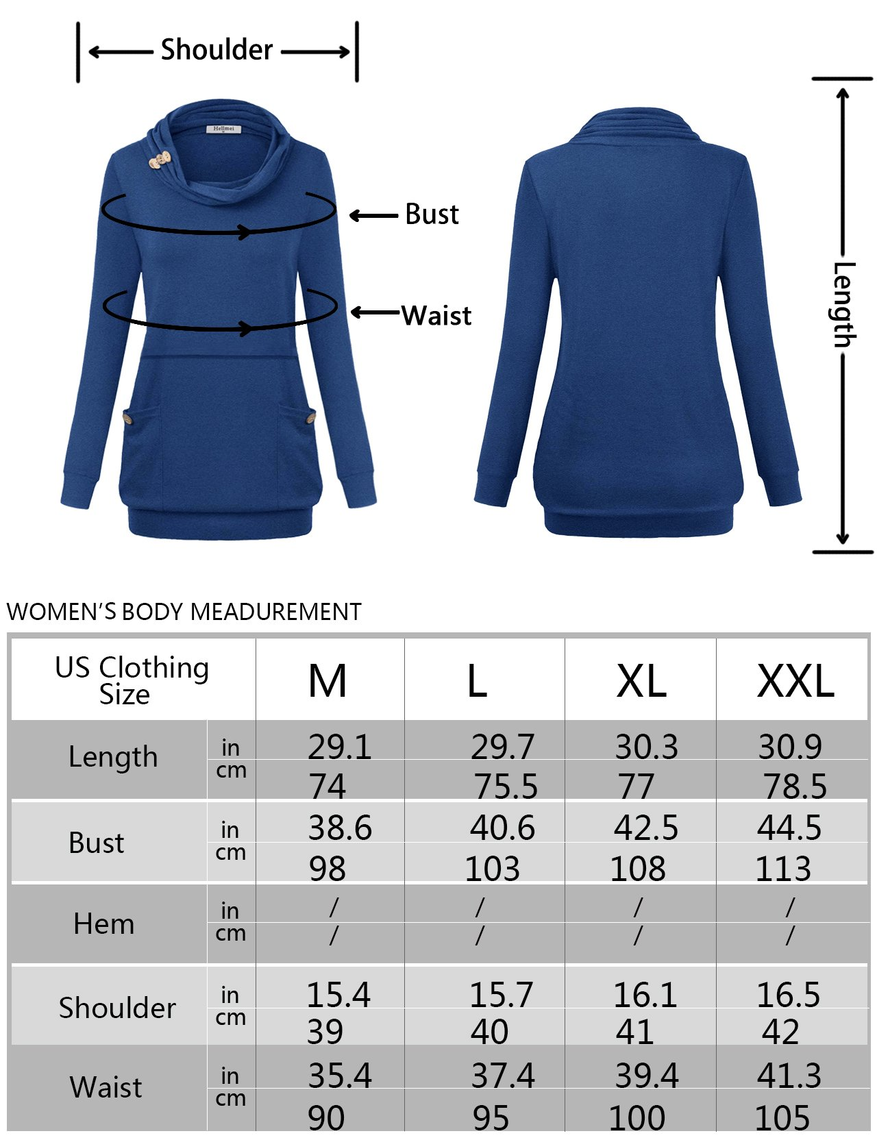Hellmei Womens Nursing Tops, Ladies Petite Trendy Draped Prime Misses Shirt Long Sleeve Jersey Cotton Trapeze Cowl Neck Tunic A-Line Pleat Stretchy Business Casual Clothing Rose Red M by Hellmei (Image #4)