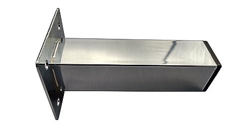 6u0026quot; Chrome Metal Furniture Leg [Sofa Legs/Feet] Set Of 4~