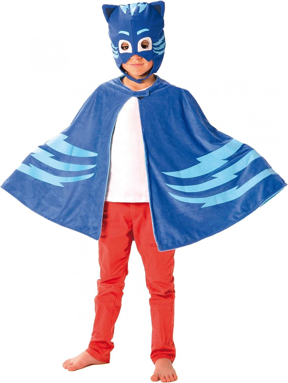 Generique Capa y máscara Gatuno Pj Masks niño: Amazon.es: Juguetes ...