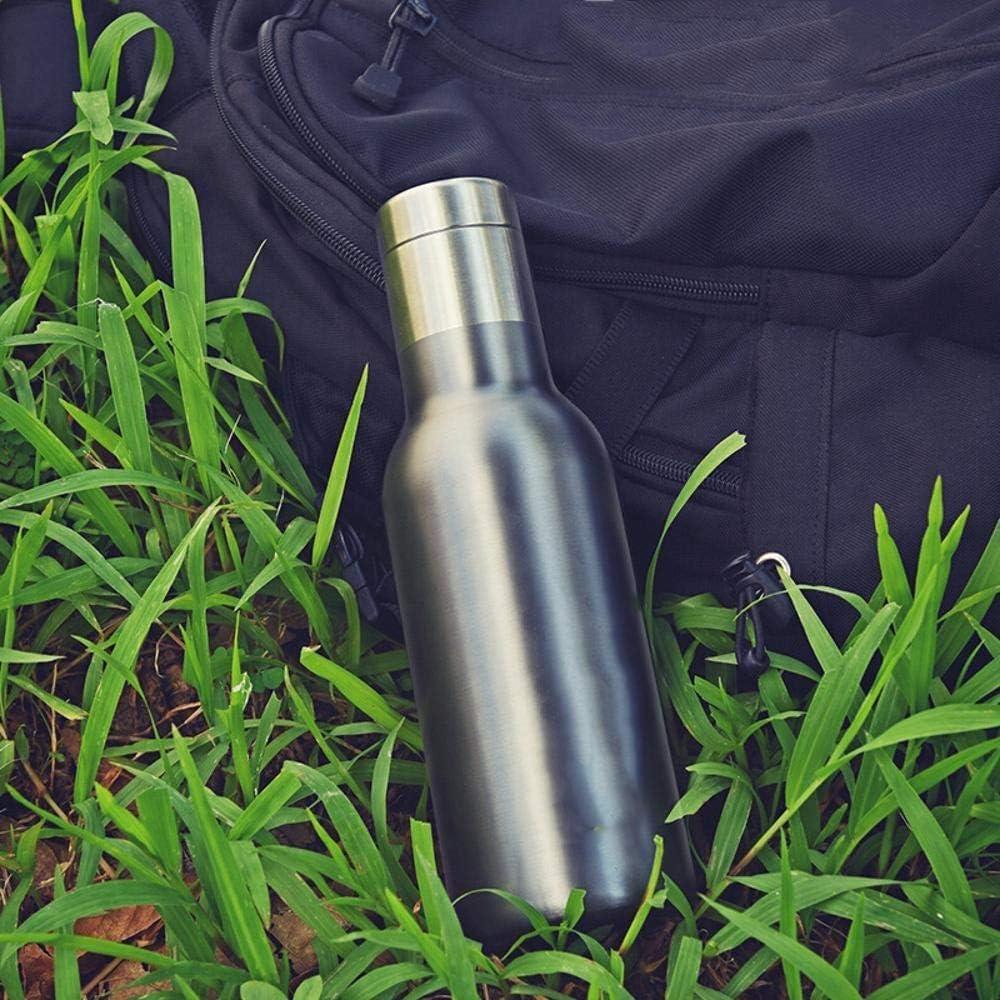 taobaobao Tazze da Campeggio,Doppio Strato Vuoto Dritto Tazza in Acciaio Inox Isolamento e Tenuta A