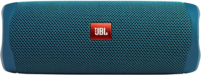 JBL FLIP 5 - Waterproof Portable Bluetooth Speaker Made from 90% Recycled Plastic - Blue (Eco Edition)