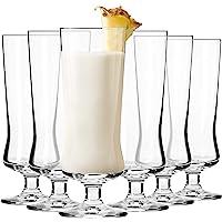 Krosno Copas Pina Colada Cóctel Vasos   Conjunto