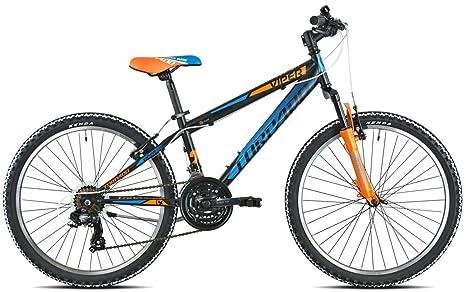 TORPADO Bicicleta MTB Junior Viper 24 3 x 6 V Naranja (niño ...