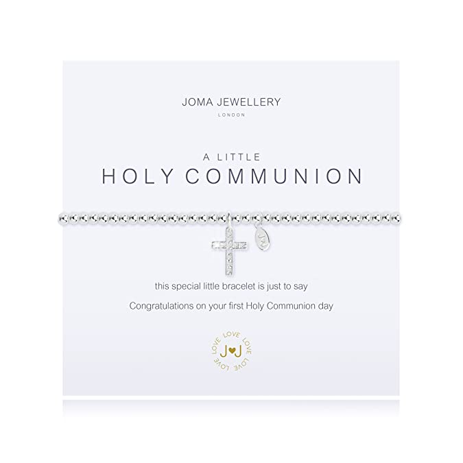 A Little First Holy Communion Silver Bracelet (Adults) by Joma Jewellery 4IzqX