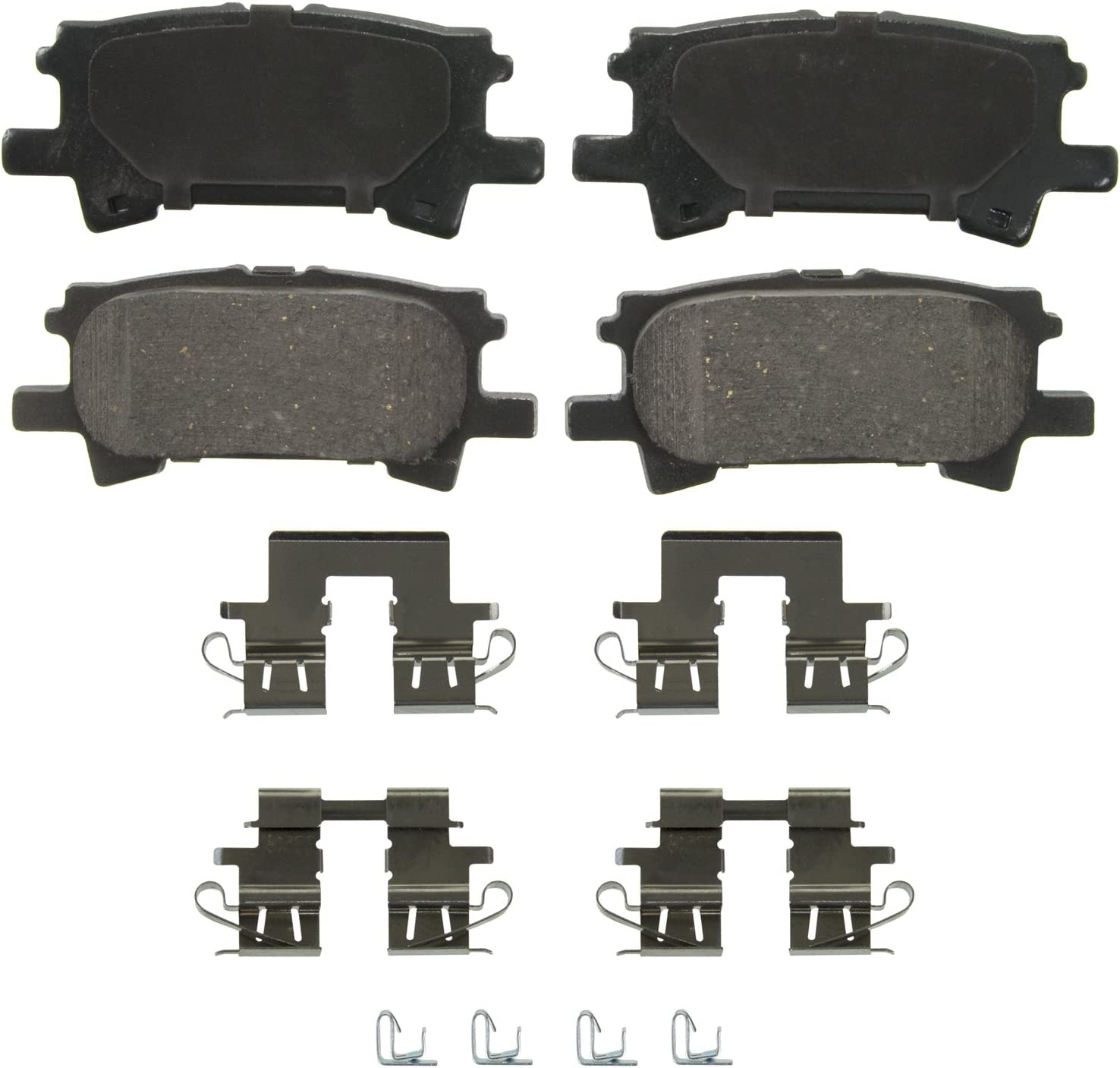 For Toyota,Lexus Highlander,RX330,RX400h,RX350 Rear  Semi-Metallic Brake Pads