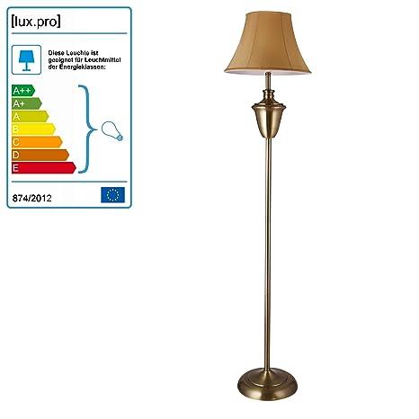 [lux.pro] Lámpara de pie LED elegante (E27) - Ø 35cm - Lámpara de salón