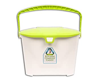 kitchen compost caddy vented compost bin pail