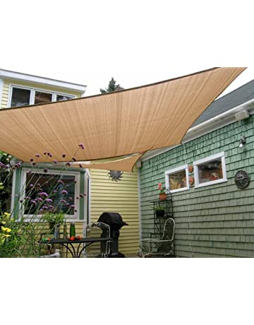 Amazon Com Shade Sails Patio Lawn Garden