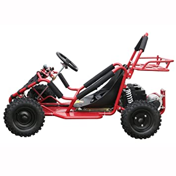 JCMOTO Upgraded Electric Go Karts 4 Four Wheelers for Kids 48v 1800w