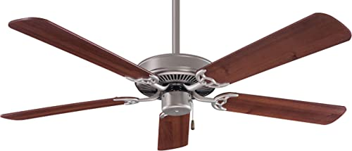 Minka-Aire F547-BS/DW Contractor 52 Inch Pull Chain Ceiling Fan