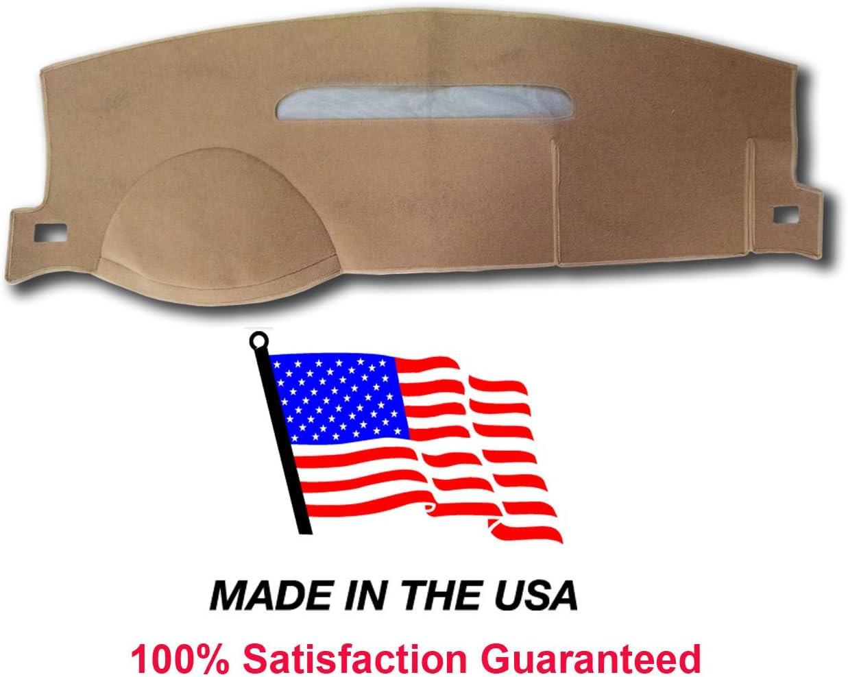 Black 07-13 Chevy Avalanche Dash Cover Mat Pad Carpet CH83