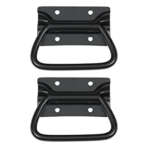 Reliable Hardware Company RH-0540BK-2-A Set of 2 Chest Handle, Black