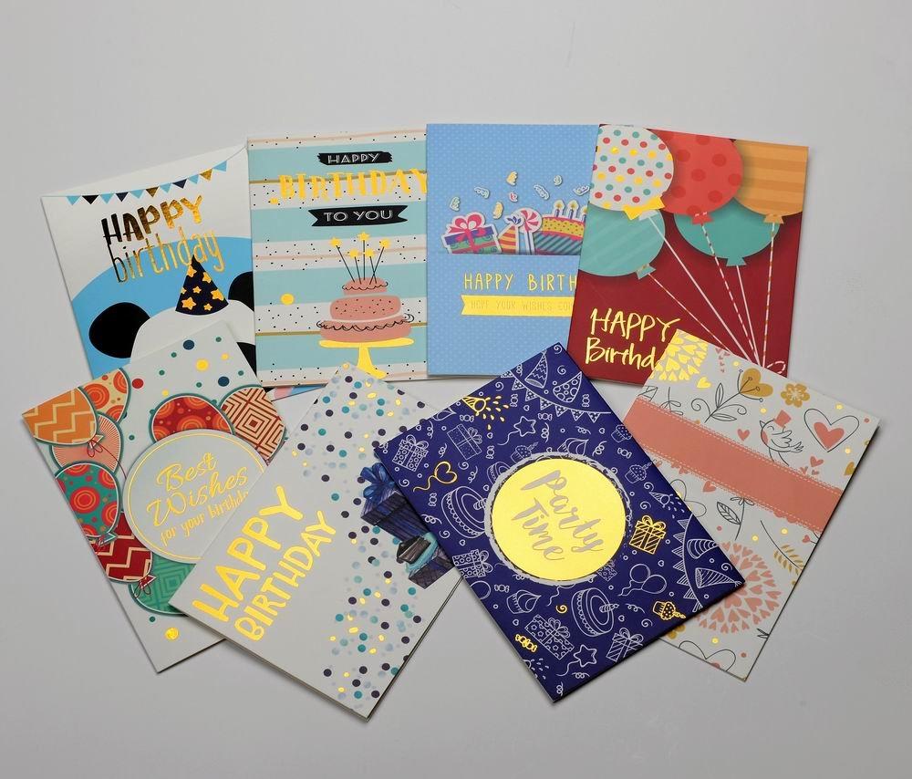 Amazon Birthday Cards Box Set Honwally 40 Packs Assorted