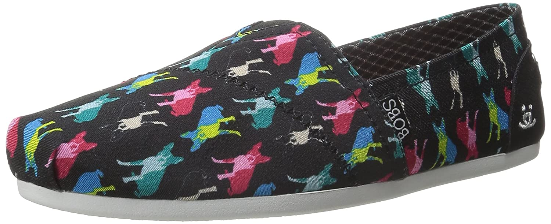 Boston Terrier Skechers Women's BOBS Plush - Pup Smarts shoes
