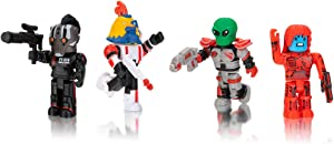Roblox Action Collection - Star Commandos Four Figure Pack [Includes Exclusive Virtual Item]