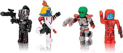 Amazon Com Roblox Action Collection Star Commandos Four Figure