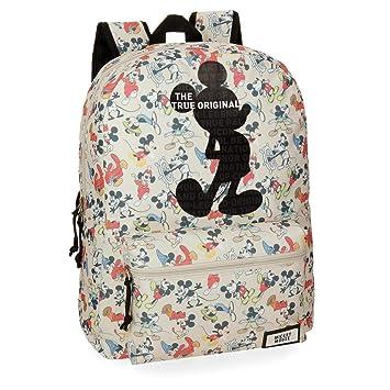 Disney True Original - Mochila escolar, 42 cm, 21.5 litros, Multicolor: Amazon.es: Equipaje