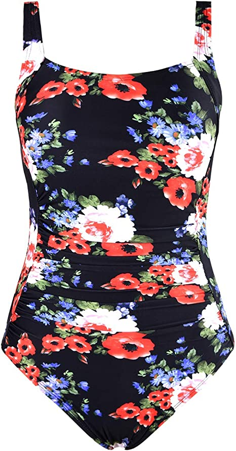 Realtree Camo Women/'s bathing suit Shirred Bandeau One-Piece Swimsuit SZ 10 $99
