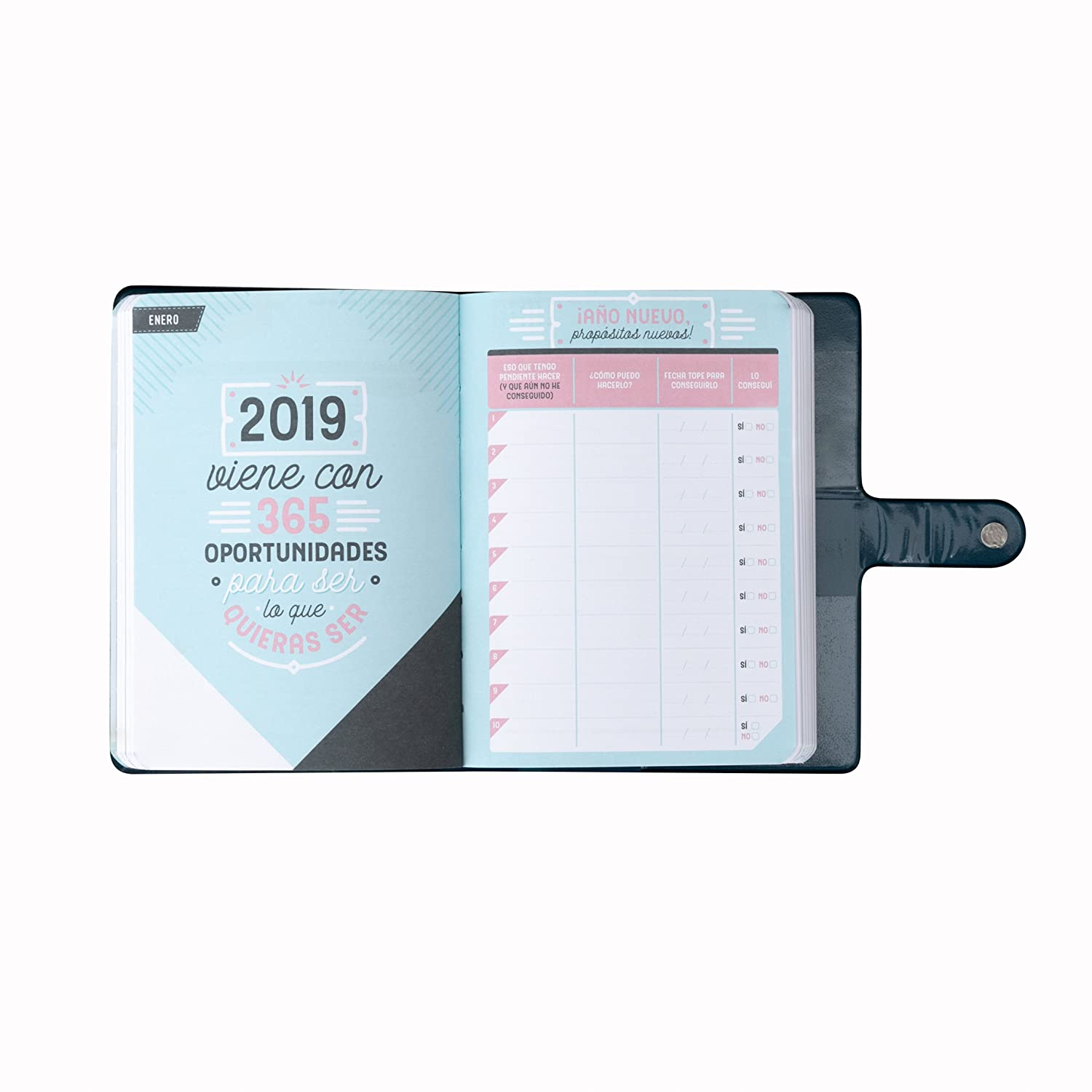 Amazon.com : Mr. Wonderful - Classic Small Year Planner 2019 ...