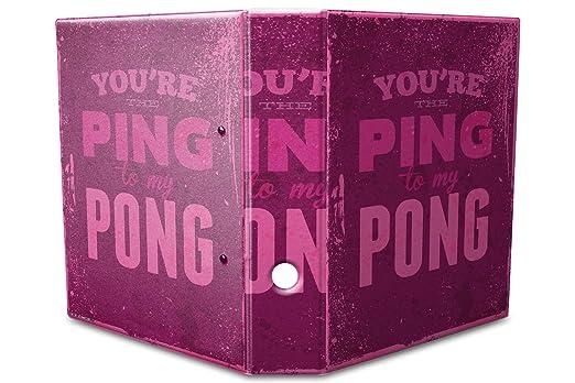 Archivador A4 Carpeta 2 anillas 60mm impreso Mesa de ping pong ...