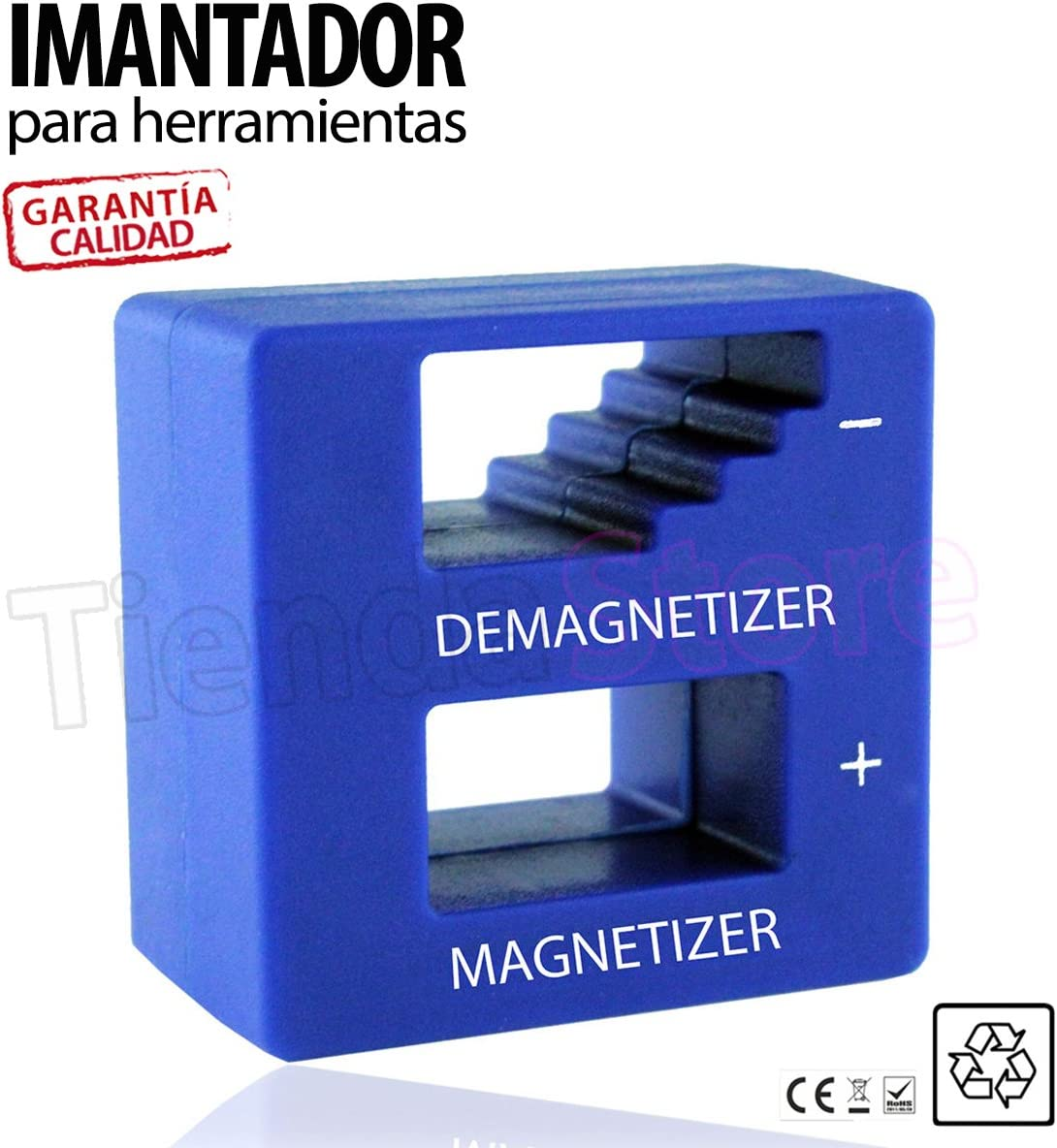 Imantador magnetizador desmagnetizador herramientas destornilladores atornillador TiendaStore®: Amazon.es: Bricolaje y herramientas