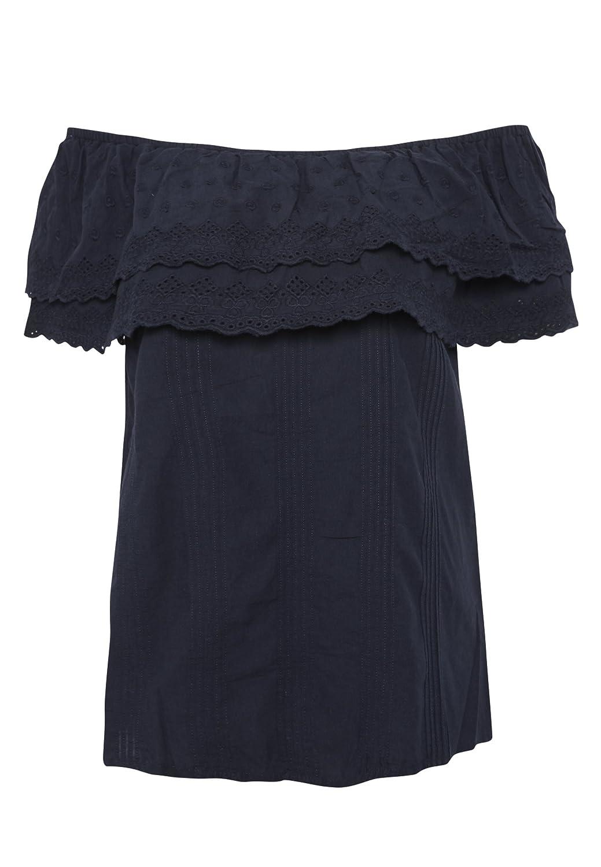 retro 60er Jahre Pepita Rockabilly Puffarm Kragen Hahnentritt Bluse