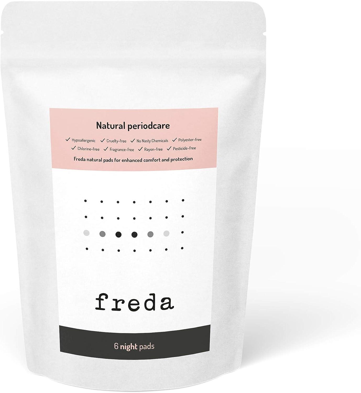 Freda Tampones de algodón 100% orgánico con aplicador, Super x 8 ...