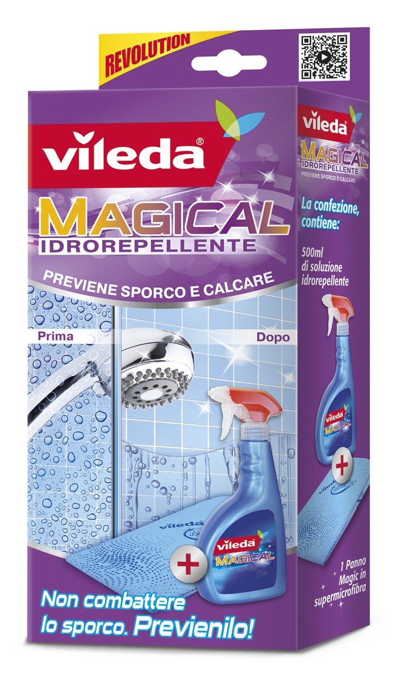 VILEDA MAGICAL SOLUZIONE IDROREPELLENTE 500ML + PANNO