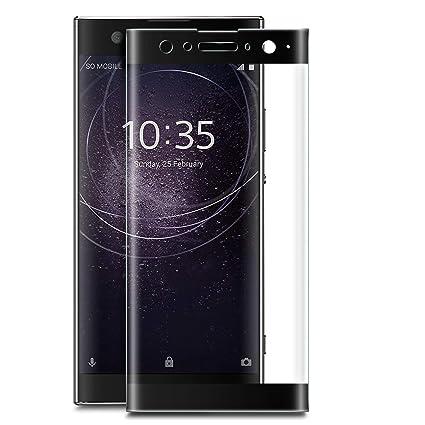 Novago [2 Pack] kompatibel mit Sony Xperia XA2 Plus (XA2 +) Hartglas Schutzfolie, Panzerglas Schutzfolie, Tempered Glass Scre