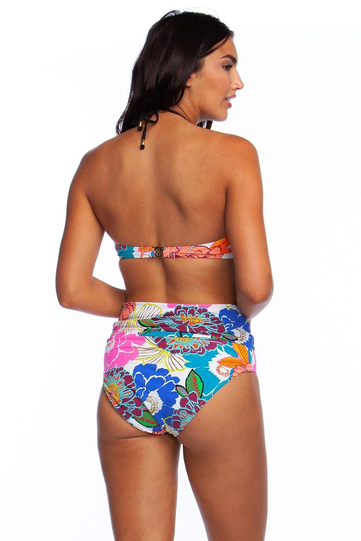 97b1b6c4e60 Sets Trina Turk Womens Halter Bandeau Hipster Bikini Swimsuit Top Trina  Turk Women's Halter Bandeau Hipster ...