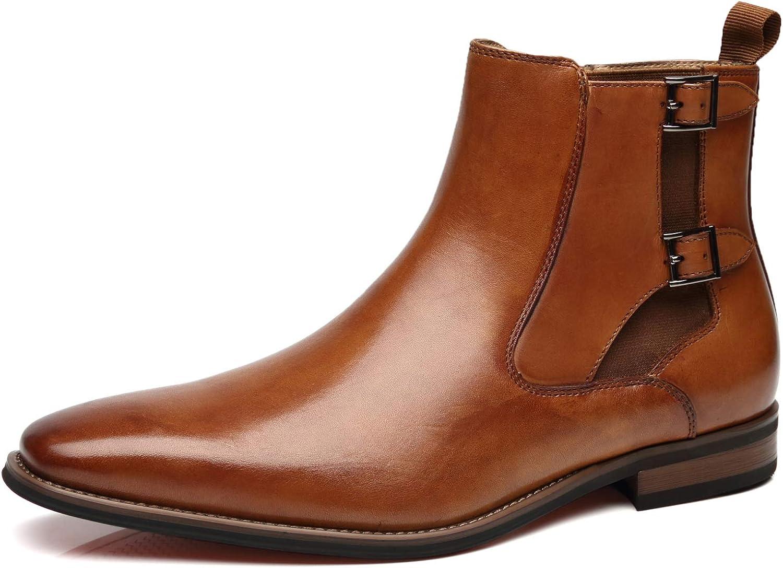La Milano Men's Chelsea Boots Genuine