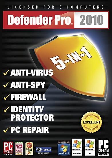 Amazon com: Defender Pro 2010 5-In-1 Plus [Old Version]