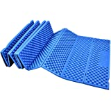 Foam Camping Mat Folding Beach Tent Sleeping Pad Waterproof Mattress for Outdoor Indoor Activities