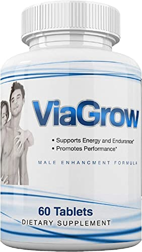 VIAGROO – Now with Nitric Oxide Booster L-ARGININE – Natural Male LIBIDO Enhancement Sex Pills Penis Enlargement Testosterone – 7 Day – Buy 3, GET 1 Free