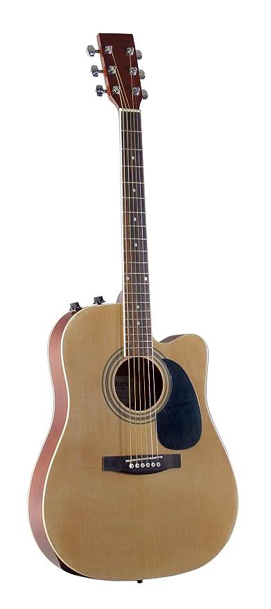 Amazon Com Johnson Jg 650 Tn Thinbody Acoustic Guitar With Pickup