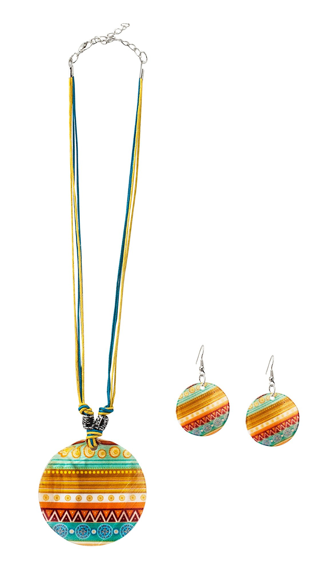 The Paragon Shell Necklace and Earrings - Southwestern Style Shell Jewelry for Women