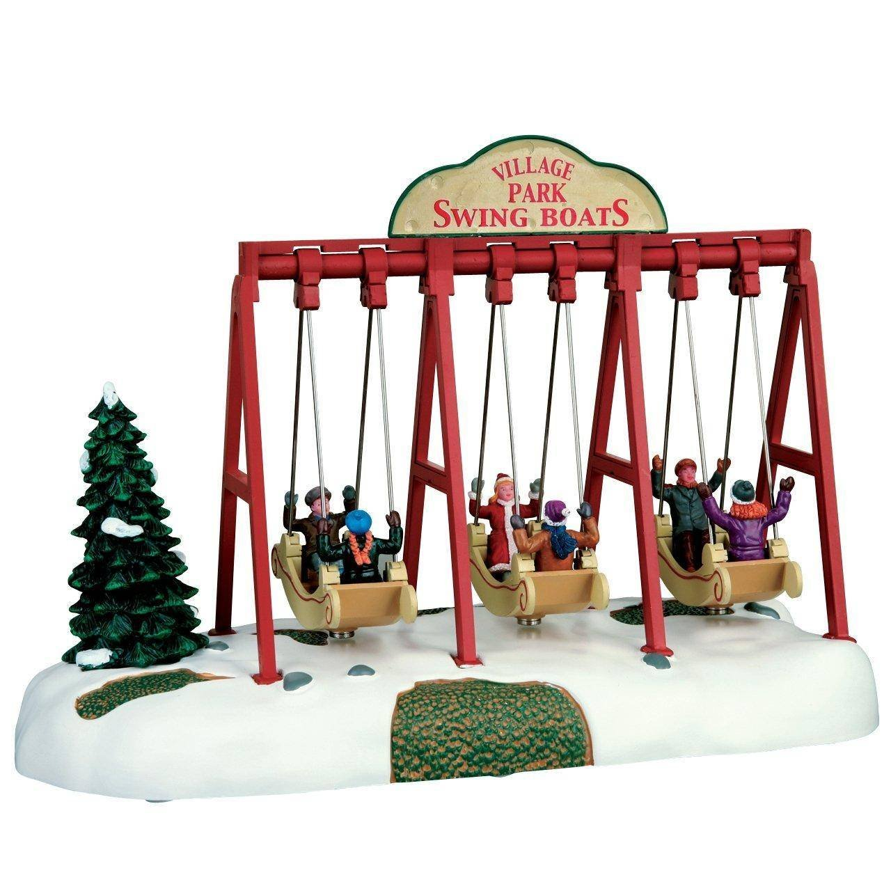Lemax - Swing Boats - Schaukel - Animiertes Accessoire - 4,5V - Weihnachtswelt