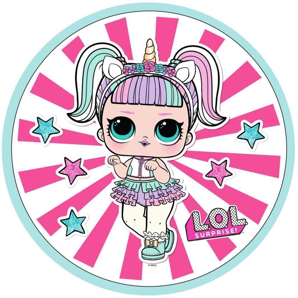 Fleece Cushion for Girls Lol Dolls Confetti Pop Theatre Club Glee Merbaby Super B B Baby Cat Unicorn Accessories for Girls L.O.L Surprise
