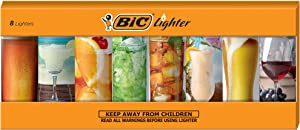 BIC Special Edition Cheers Series Lighters, Set of 8 Lighters