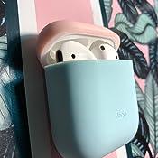 Amazon.com: elago AirPods Duo Case [Body-Pastel Blue/Top