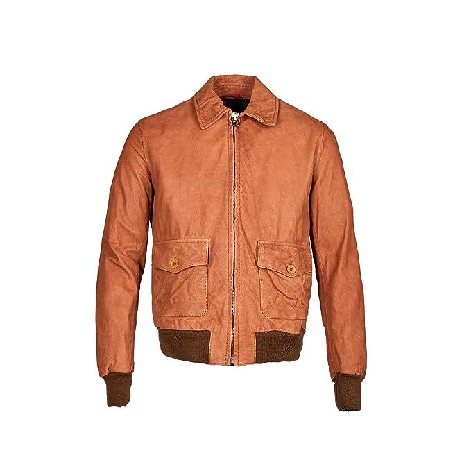 stewart giacca pelle uomo