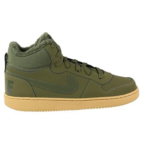 Nike Herren Court Borough MID WNTR GS Fitnessschuhe, Mehrfarbig Olive  Canvas 300, 38.5 EU 3dc63b63a9