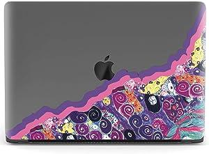 Mertak Hard Case for Apple MacBook Pro 16 Air 13 inch Mac 15 Retina 12 11 2020 2019 2018 2017 Laptop Clear Plastic Gustav Klimt Abstract Touch Bar Design Women Print Girly Shell Artwork The Maiden