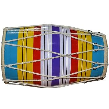 Swastik Supar Band Baby Dholak Wooden Cymbal Sets at amazon