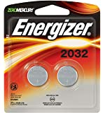 Energizer Watch/Electronic Batteries, 3 Volts, 2032, 2 batteries (Lithium Button Cell)