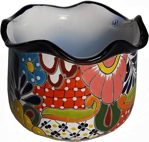 Fine Crafts Imports Aranza Talavera Mexican Ceramic Pot