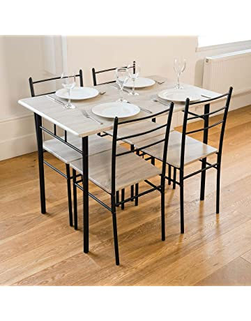 Astounding Dining Table Sets Shop Amazon Uk Download Free Architecture Designs Remcamadebymaigaardcom