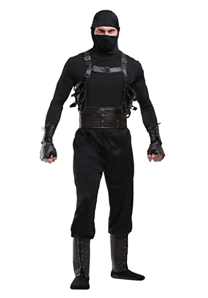 Amazon.com: Ninja Assassin Mens Costume: Toys & Games