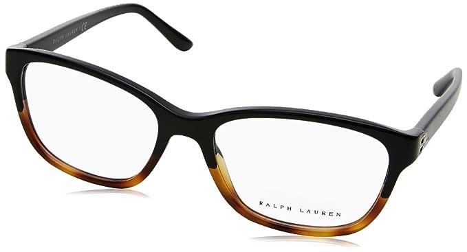 Ralph Lauren 0Rl6140, Monturas de Gafas para Mujer, Black Gradient Havana, 54